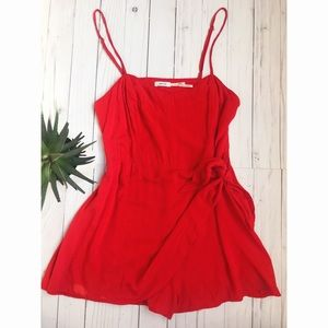 Urban Outfitters Wrap Romper